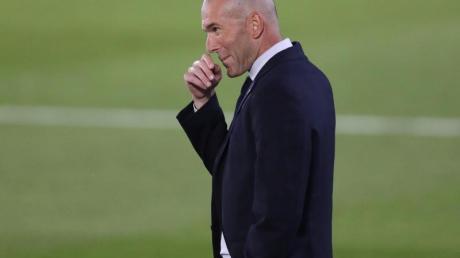 Coach von Real Madrid: Zinédine Zidane.