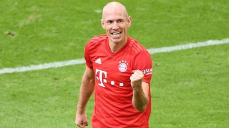 Trainiert für ein Comeback beim FC Groningen: Der ehemalige Bayern-Star Arjen Robben.
