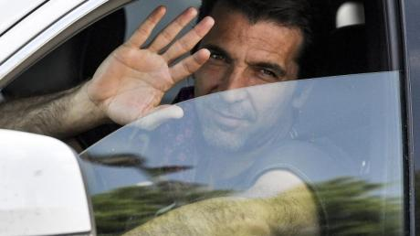 Hängt mit 42 Jahren noch eine Saison bei Juventus Turin dran: Torwart Gianluigi Buffon.