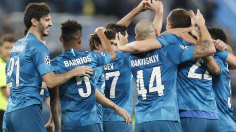 Zenit St. Petersburg wurde erneut russischer Fußball-Meister.