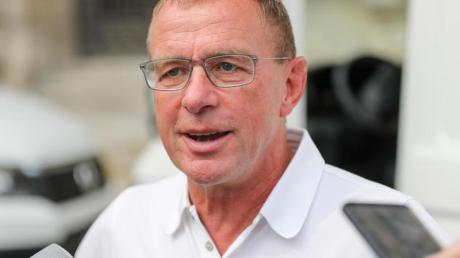 Soll sich mit ACMailand einig sein: Ex-Bundesliga-Coach Ralf Rangnick.