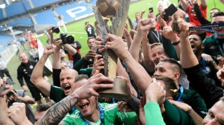 Legia Warschau konnte sich nach 2018 (Foto) 2020 erneut den Titel sichern.