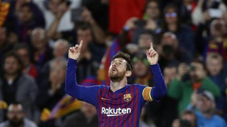 Jubelt derzeit nur über Tore für den FC Barcelona: Lionel Messi.