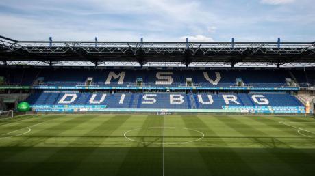 In der Arena des MSV Duisburg wird Europa League gespielt.
