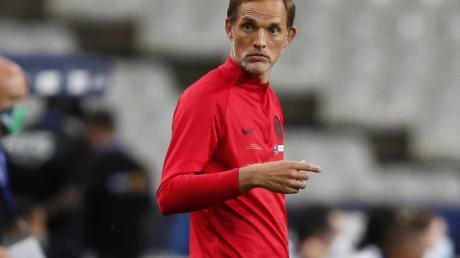 Hat sich am Fuß verletzt: Thomas Tuchel, Cheftrainer von Paris Saint-Germain.
