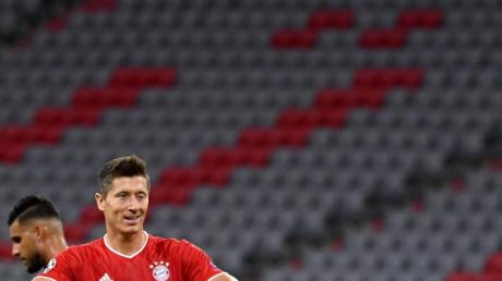 Hat sein 66. Tor in der Champions League erzielt: Robert Lewandowski.
