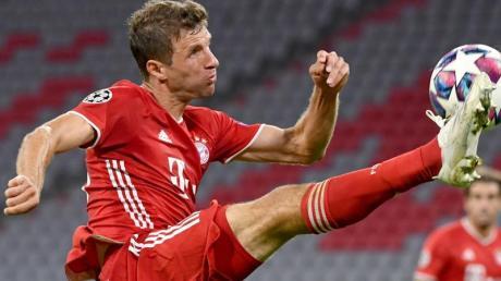 Hat gegen den FC Chelsea sein 112. Spiel in der Champions League bestritten: Münchens Thomas Müller in Aktion.