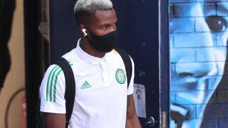 Sorgte mit siner heimlichen Reise nach Spanien für einen Eklat: Der für Celtic Glasgow spielende Belgier Boli Bolingoli.