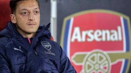 Mesut Özil spielt unter Arsenal-Coach Mikel Arteta keine Rolle mehr.