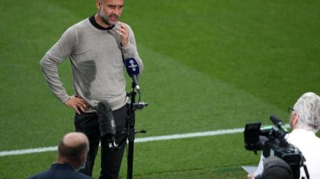 Muss bei Man City endlich auch international liefern: Starcoach Pep Guardiola.