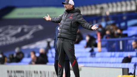 Nicht zufrieden: Liverpool-Coach Jürgen Klopp.