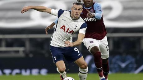 Gareth Bale kam gegen West Ham ab der 72. Minute zum Einsatz.