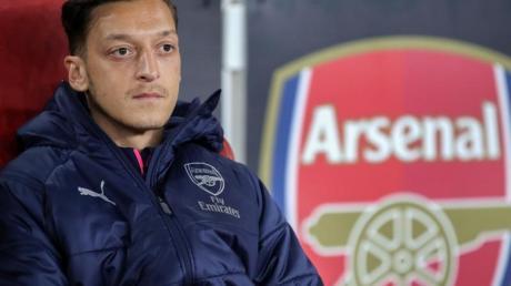 Mesut Özil spielt beim FC Arsenal keine Rolle mehr.