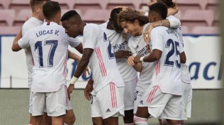 Real Madrid entschied den Geister-Clásico gegen den FCBarcelona für sich.