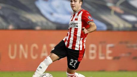 Bekommt von PSV-Coach Roger Schmidt eine Pause verordnet:Mario Götze.