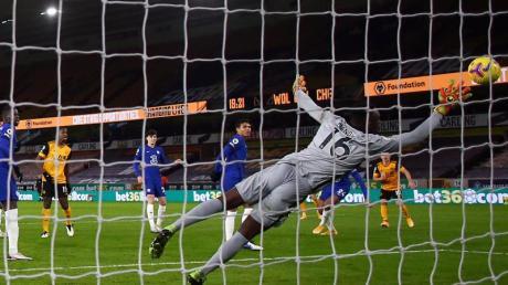Der FC Chelsea hatte bei den Wolverhampton Wanderers das Nachsehen.