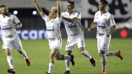 Der FC Santos steht wie Palmeiras São Paulo im Finale der Copa Libertadores.