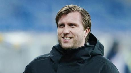 Will bald eine Lösung wegen des Heimspiels gegen den FC Liverpool präsentieren: Leipzig-Sportdirektor Markus Krösche.
