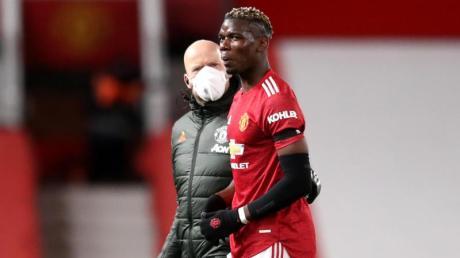 Verletzte sich gegen den FC Everton: Paul Pogba.