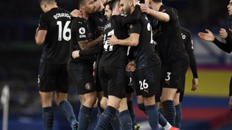 Manchester City feiert einen klaren Auswärtssieg beim FC Everton.