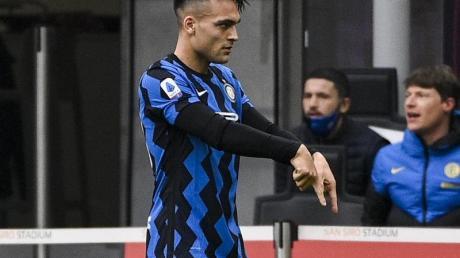 Lautaro Martinez sicherte Inter den Sieg in Turin.