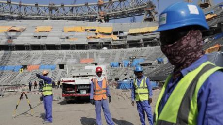 Die WM 2022 in Katar ist umstritten.