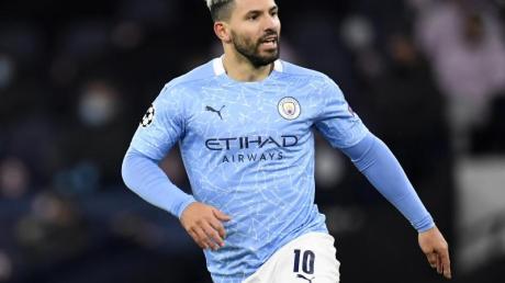 Wird Manchester City nach zehn Jahren verlassen: Sergio Aguero.