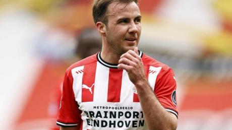 Hat beim PSV Eindhoven wieder Spaß am Fußball: Mario Götze.