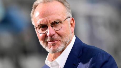 Hält nichts von einem WM-Boykott: Bayern-Boss Karl-Heinz Rummenigge.