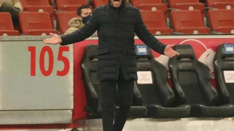 Atletico Madrids Cheftrainer: Diego Simeone.