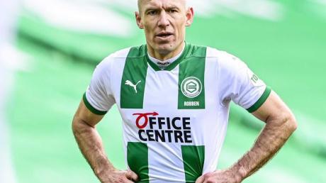 Arjen Robben spielt für den FC Groningen.