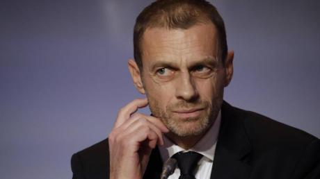 Hofft auf eine Fußball-EM, die «so normal wie möglich ist»: UEFA-Präsident Aleksander Ceferin.