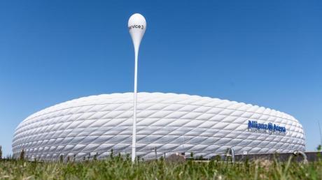 Vier Spiele der Fußball-EM werden in der Münchner Allianz Arena ausgetragen.