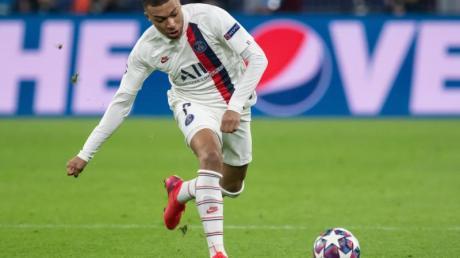 Traf beim PSG-Sieg in Metz doppelt: Weltmeister Kylian Mbappé.