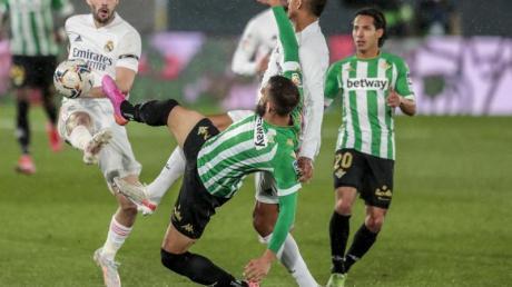 Real Madrids kam gegen Betis Sevilla nicht über ein Remis hinaus.