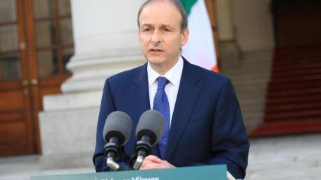 Micheál Martin, Premierminister von Irland.