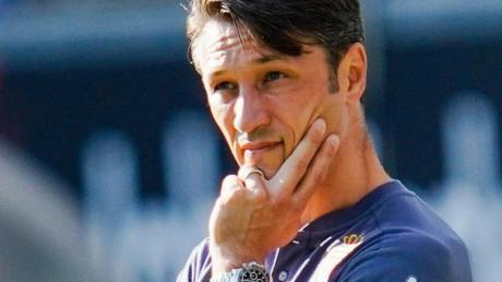 Trainer Niko Kovac verlor mit der AS Monaco.