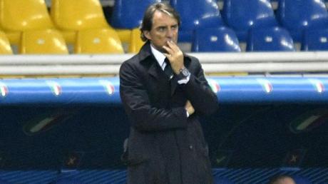 Der Zeitplan für Italiens Nationaltrainer Roberto Mancini bis zur EM ist knapp bemessen.