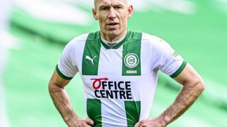 Robben steuerte beim 4:0-Erfolg des FCGroningen beim FCEmmen zwei Vorlagen dazu.