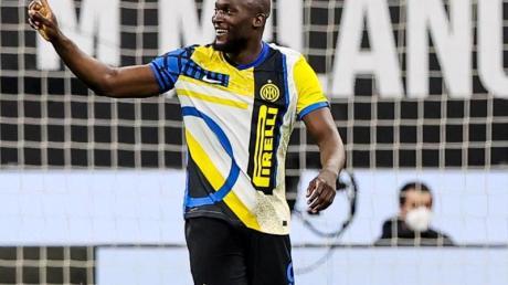 Bekam von Inter Mailand eine Strafe aufgebrummt: Romelu Lukaku.