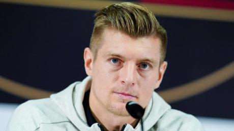 Real Madrids Toni Kroos muss ich in Quarantäne begeben.