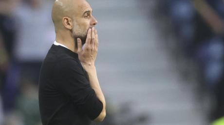 City-Trainer Pep Guardiola überraschte mit seiner Final-Taktik.