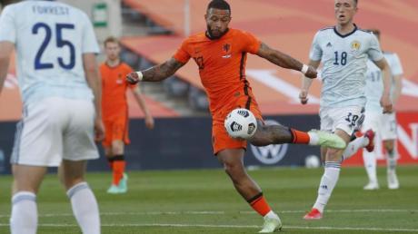 Nordmazedonien trifft in der EM-Gruppenphase auf die Niederlande mit Stürmer Memphis Depay. Alles zur Übertragung - hier.