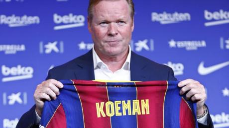 Bleibt Trainer des FC Barcelona: Ronald Koeman.