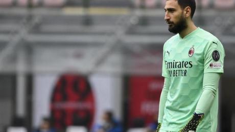 Steht angeblich vor dem Wechsel zu Paris Saint-Germain: Torwart Gianluigi Donnarumma.