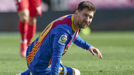 Seine Zukunft beim FCBarcelona ist weiter unklar: Lionel Messi.