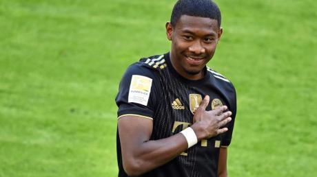 Hat das Bayern- gegen das Real-Trikot getauscht: David Alaba.
