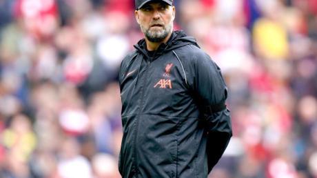 Liverpool-Trainer Jürgen Klopp vor der Partie gegen Burnley.