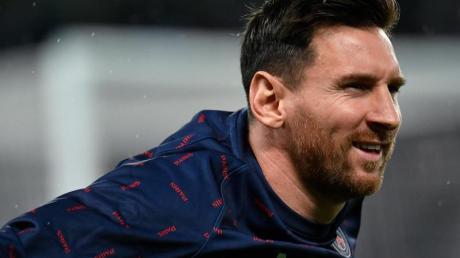 Absolvierte das PSG-Abschlusstraining vor dem ManCity-Spiel:Superstar Lionel Messi.