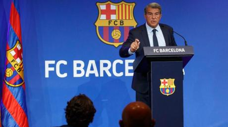 Joan Laporta, Präsident des FC Barcelona.